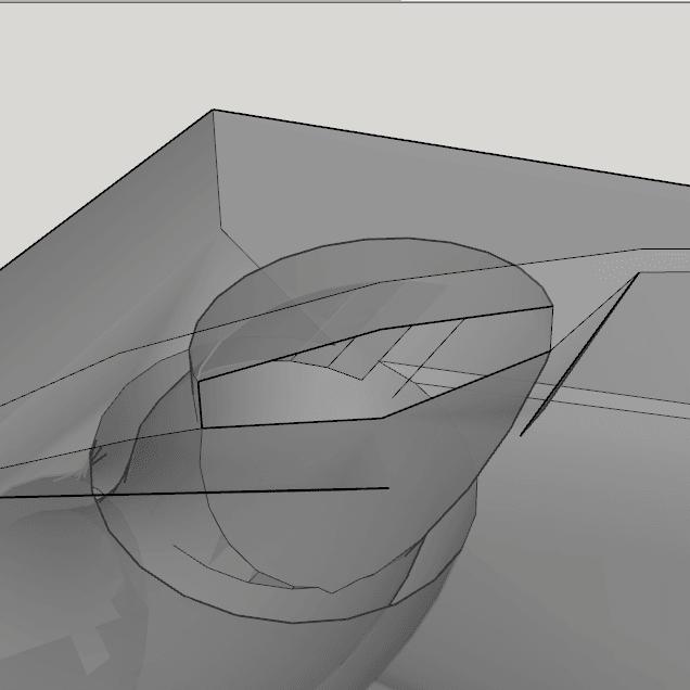 Capture d'écran (230).png Download STL file fan fan for fan pursa i3 pro c duel extruder light • 3D printer design, YOHAN_3D
