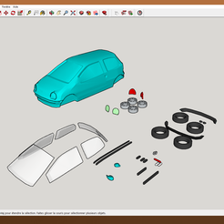 Download STL files Twingo model, YOHAN_3D