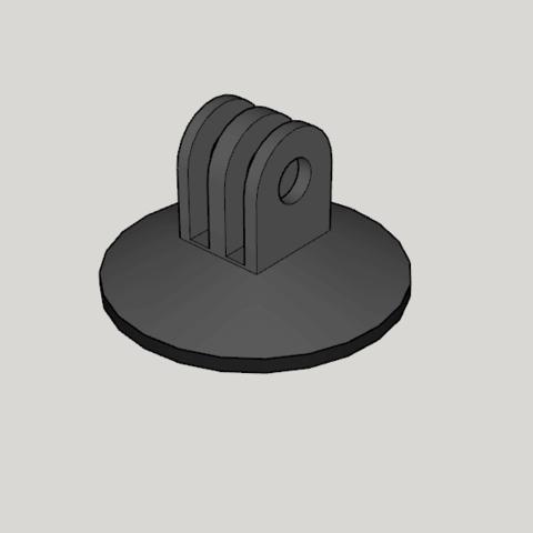 Impresiones 3D soporte universal para cámara deportiva, YohanFerrari
