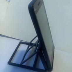 Télécharger fichier impression 3D support téléphone, YOHAN_3D