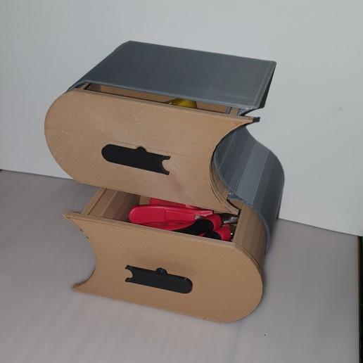 20200420_130433.jpg Télécharger fichier STL meuble surf sur la vague (grand taille) • Modèle pour imprimante 3D, YOHAN_3D