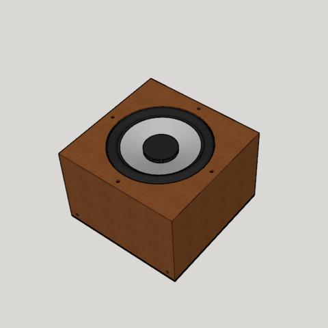 Capture d'écran (11).png Download STL file bass print in 3D (with cabinet) • 3D printing design, YOHAN_3D