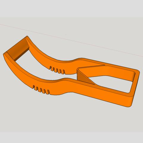 Capture d'écran (54).png Download STL file watermelon cutting pliers • 3D printer template, YOHAN_3D