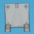 Capture d'écran (229).png Download STL file fan fan for fan pursa i3 pro c duel extruder light • 3D printer design, YOHAN_3D