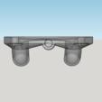 Capture d'écran (227).png Download STL file fan fan for fan pursa i3 pro c duel extruder light • 3D printer design, YOHAN_3D