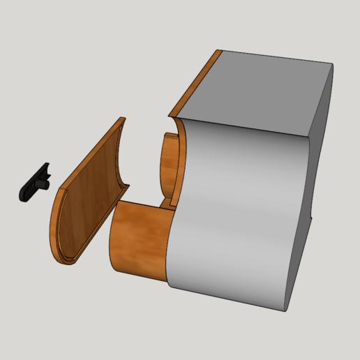Capture d'écran (126).png Télécharger fichier STL meuble surf sur la vague (grand taille) • Modèle pour imprimante 3D, YOHAN_3D