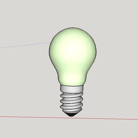 3D printer models single bulb, YohanFerrari