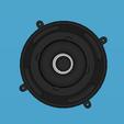 objet 3d bass imprimable en 3d + caison pour bass et tweeter, YohanFerrari