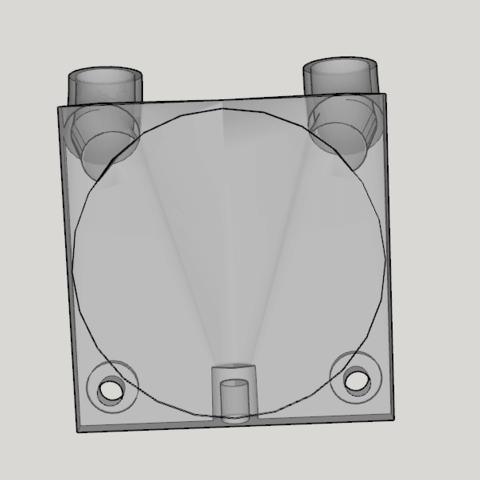 Capture d'écran (228).png Download STL file fan fan for fan pursa i3 pro c duel extruder light • 3D printer design, YOHAN_3D