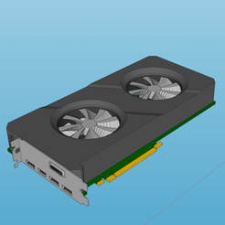 Download STL files graphic card decoration model 2, YOHAN_3D