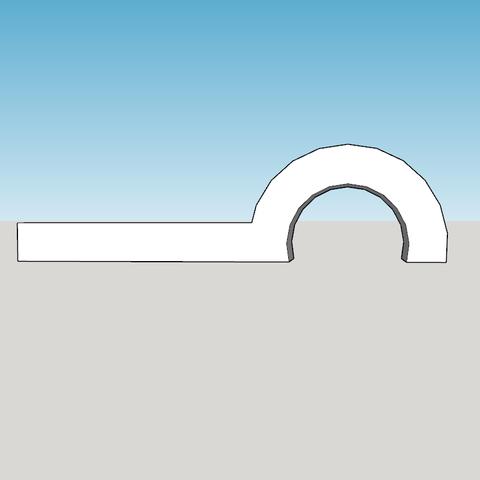 Capture d'écran (1319).png Télécharger fichier STL gratuit support cable visable et devisable remplace le collier de serrage pour la geetech pro c • Design pour impression 3D, YOHAN_3D
