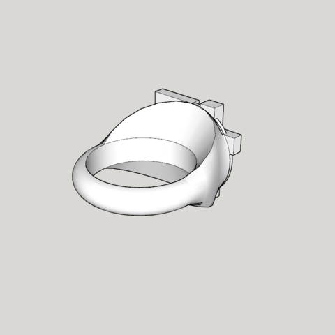 Capture d'écran (1314).png Download STL file Indochine signet ring 13 albums modell 1 full • Model to 3D print, YOHAN_3D