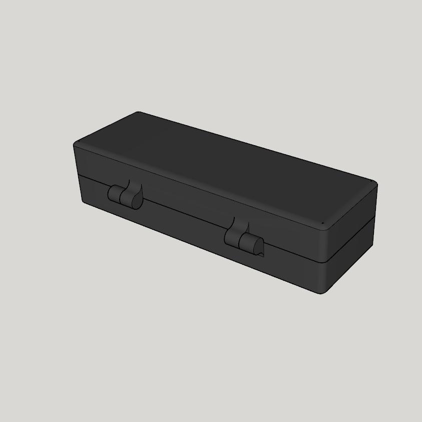 Capture d'écran (1191).png Download STL file car radio pouch (box, kit, etc.) • 3D printable design, YOHAN_3D