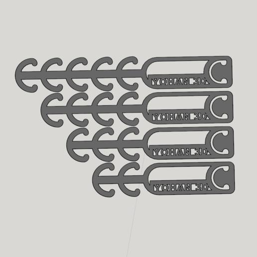 Télécharger fichier STL gratuit rallonge pour masque covid 19 • Design pour imprimante 3D, YOHAN_3D