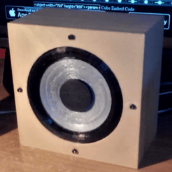 STL file 3D printing bass (with box), YohanFerrari