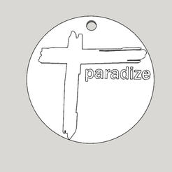 Download 3D print files medallion cross from the Indochina album paradize, YOHAN_3D