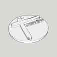 Capture d'écran (1189).png Download STL file medallion cross from the album paradize d'Indochine • 3D printer model, YOHAN_3D