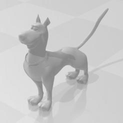 Descargar modelos 3D figurita scooby doo, YOHAN_3D