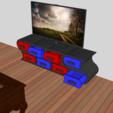 3D printer files furniture (surfing on the wave), YohanFerrari