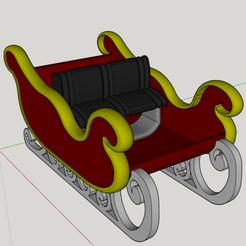 Capture d'écran (405).png Télécharger fichier STL traineau de table • Plan imprimable en 3D, YOHAN_3D