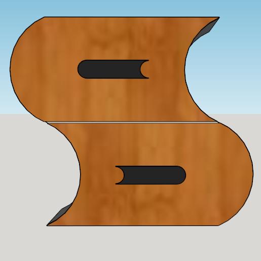 Capture d'écran (124).png Télécharger fichier STL meuble surf sur la vague (grand taille) • Modèle pour imprimante 3D, YOHAN_3D