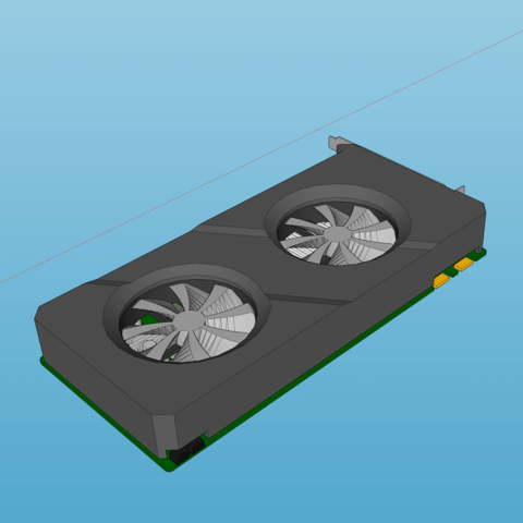 graphic card decoration model 2