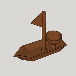 Free stl boat egg cup, YohanFerrari