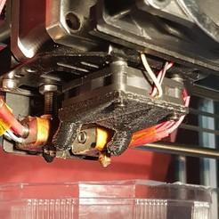Objet 3D ventilateur pour fan pursa i3 pro c duel extrudeur, YohanFerrari