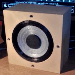 bass print in 3D (with box) 3D printer file, YohanFerrari