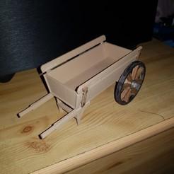 3D printer files Flower pot cart, YohanFerrari