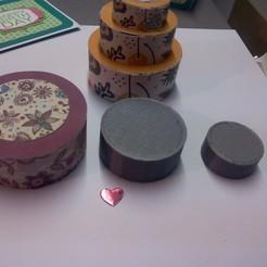 cake piece mounted for explosion scrap box 3D printer file, YohanFerrari