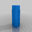 zig_zag_body_white.png Download free STL file Zig Zag Dube Tube in multi color • 3D printing object, mpkottawa