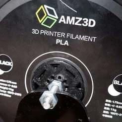 DSC09407.JPG Download free STL file AMZ3D PLA spool hub • Model to 3D print, mpkottawa