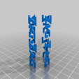 zig_zag_body_black.png Download free STL file Zig Zag Dube Tube in multi color • 3D printing object, mpkottawa