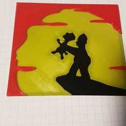 0ujccwH.jpg Download free STL file the simpsons homer choking bart mural • 3D printer model, mpkottawa
