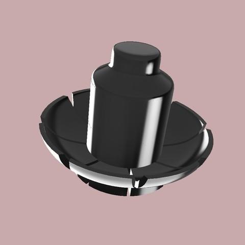 porte couteaux noir.jpg Download STL file knife holder • 3D print object, SergeResplandy