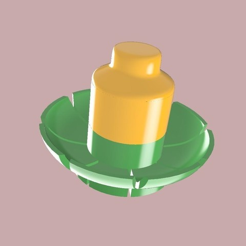 porte couteaux vert et jaune.jpg Download STL file knife holder • 3D print object, SergeResplandy