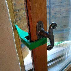 Impresiones 3D arrendador de ventanas, SergeResplandy