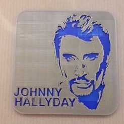 20180107_152400.jpg Download STL file Magnet johnny hallyday • 3D printer design, SergeResplandy