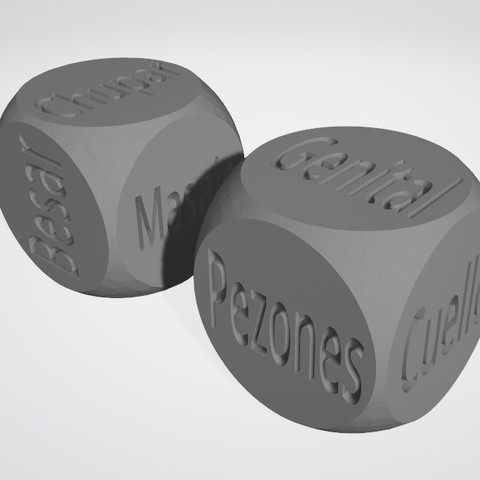 dados1.jpg Download STL file SEXY DICE - Español v2 • 3D printer template, xchgre