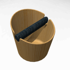 Download free STL file coffee knock box • 3D printable model, Obiecto