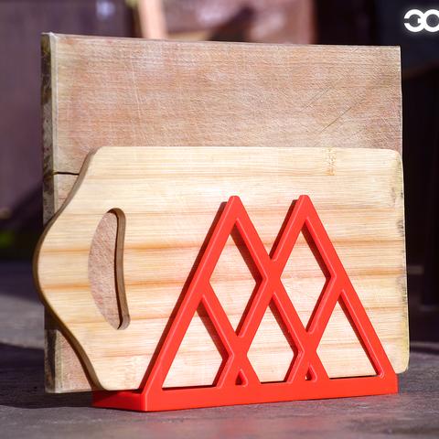 Free 3D printer files Cutting Board drying rack, Obiecto