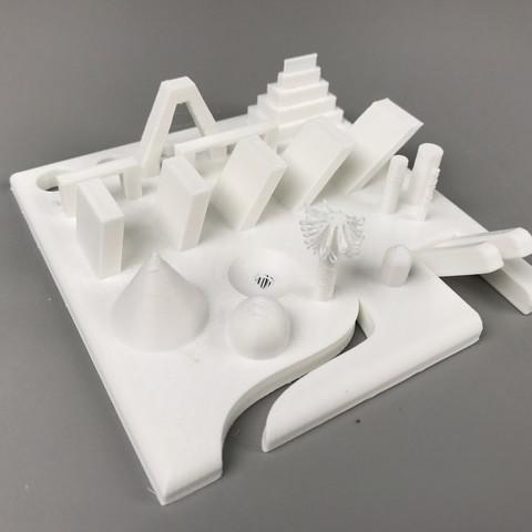 Download free 3D model 3D Printer Torture Test, LetsPrint