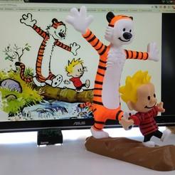 Descargar diseños 3D gratis Calvin and Hobbes, Alvaro82