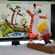Free STL files Calvin and Hobbes, Alvaro82