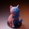 Modelos 3D Gato elegante, Vincent6m