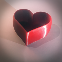 Download free 3D printer model Heart planter, Vincent6m