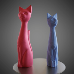 3D printer models Cat cartoon style, Vincent6m