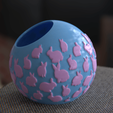 Download free 3D printing files Bunny planter, Vincent6m