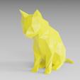 Modelos 3D para imprimir Gato triste, Vincent6m